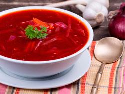 Рецепт украинского вкусного борща