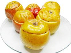 Печеные яблоки - польза, рецепт приготовления (видео)