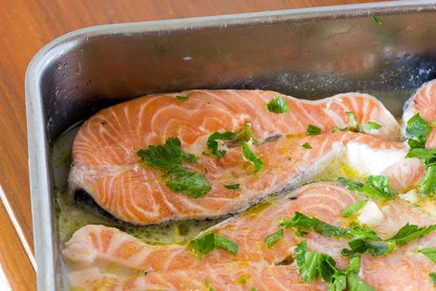 Горбуша в духовке- рецепты с фото от Шефмаркет