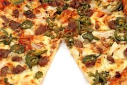 пицца порезанная на кусочки