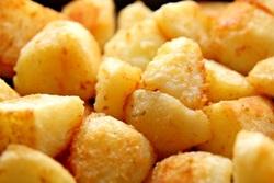 тушеная картошка кусочками