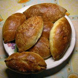 Рецепт пирожков из дрожжевого теста в духовке