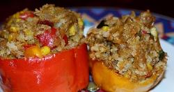 Фаршированный перец запеченный в духовке - пошаговые рецепты
