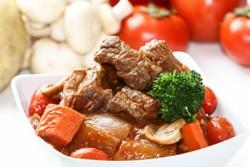 Мясо с овощами запеченное в духовке