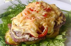 Как готовить мясо по французски в духовке