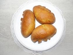 Пирожки из теста на кефире в духовке