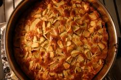 Рецепт пышной шарлотки с яблоками в духовке