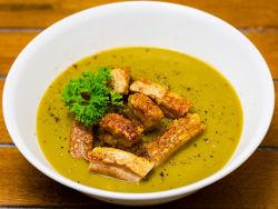 Как варить гороховый суп с мясом?