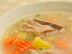 Как варить свинину для супа?