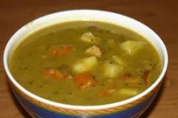 Гороховый суп в мультиварке - пошаговый рецепт приготовления
