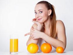 Свежевыжатый апельсиновый сок - польза и вред, калорийность