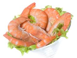 Креветки - польза и вред, калорийность